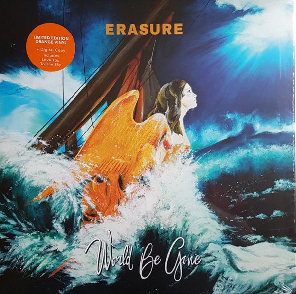 Erasure - World Be Gone (Ltd. orange Vinyl)