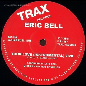 Eric Bell - Your Love