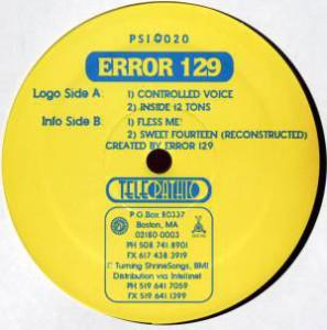 Error 129 - Controlled Voice