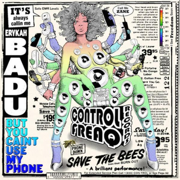 Erykah Badu - But You Caint Use My Phone (Vinyl)