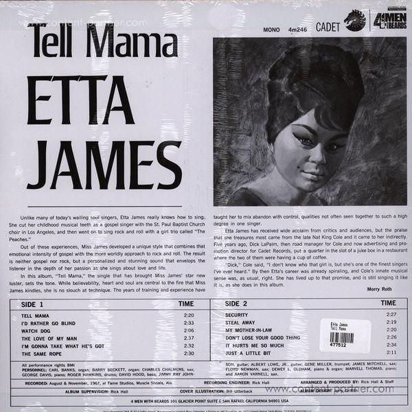 Etta James - Tell Mama (Back)