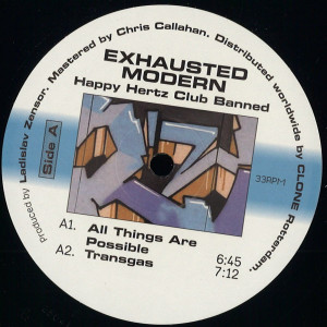 Exhausted Modern - Happy Hertz Club Banned