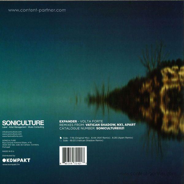 Expander - Volta Forte (NX1 / Vatican Shadow Remix) (Back)
