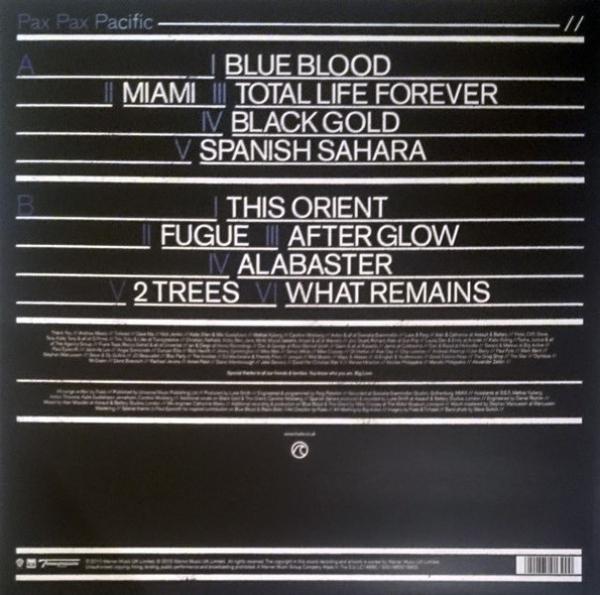 FOALS - Total Life Forever (LP) (Back)