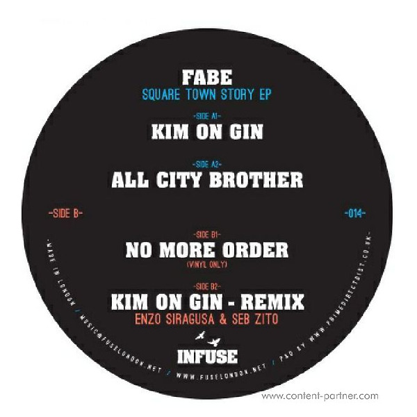 Fabe - Square Town EP (Vinyl Only)