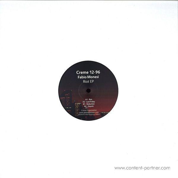 Fabio Monesi - Riot EP (Back)