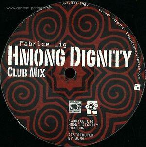 """Fabrice Lig - Hmong Dignity Ep (12"""")"""