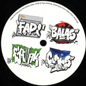 Fadi Mohem / FJAAK / Balas / Claus Schoning - VA - Fadi Mohem / FJAAK / Balas / Claus Schoning