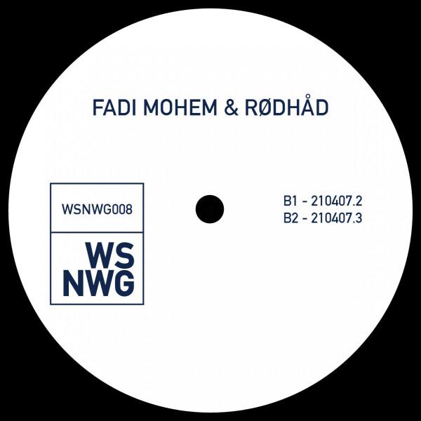 Fadi Mohem, Rødhåd - WSNWG008 (Back)