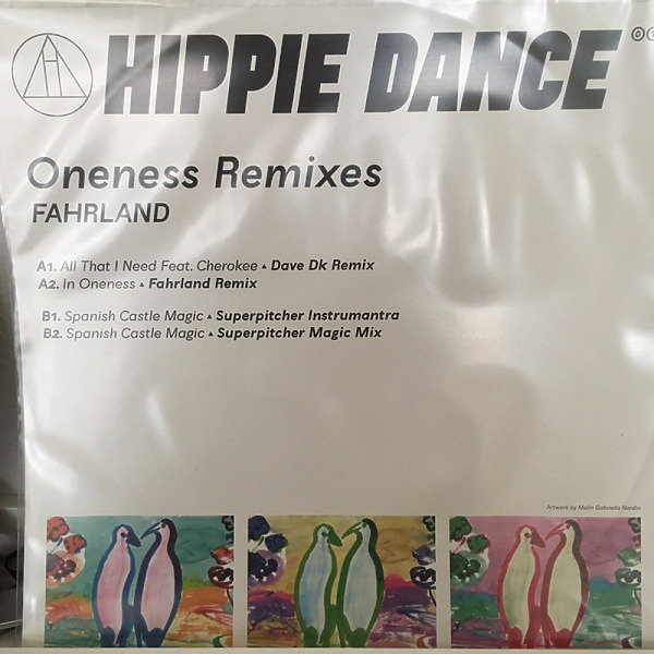 Fahrland - Oneness Remixes (Back)