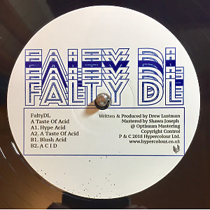 Falty DL - A Taste Of Acid EP (Back)