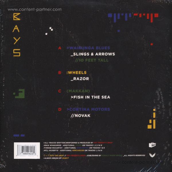 Fat Freddy's Drop - Bays (2LP Gatefold + MP3) (Back)