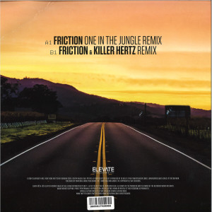 Fatboy Slim - 'Right Here Right Now' Friction remixes (Back)
