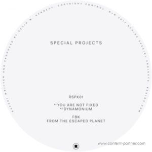 Fbk - From The Escaped Planets Ep