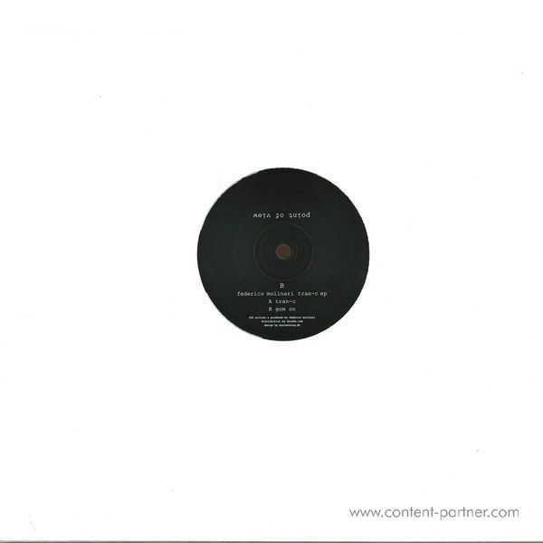 Federico Molinari - Tran-c EP (Back)