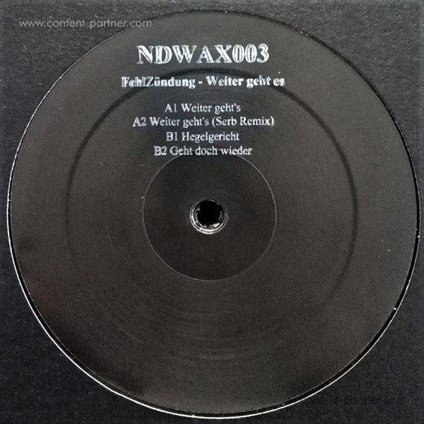 FehlZündung - Weiter geht es (Vinyl Only) (Back)