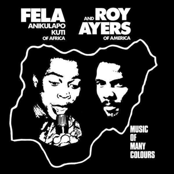 Fela Kuti & Roy Ayers - Music Of Many Colours (Black Vinyl LP)