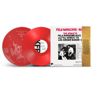 Fela Kuti and The Africa '70 with Ginger Baker - Live! (Ltd. Edition Red 2LP)