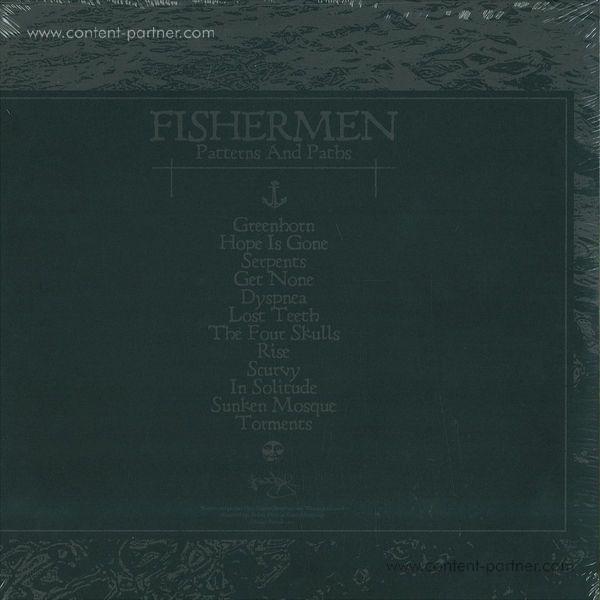 "Fishermen - Patterns And Paths 2x12"" (Back)"