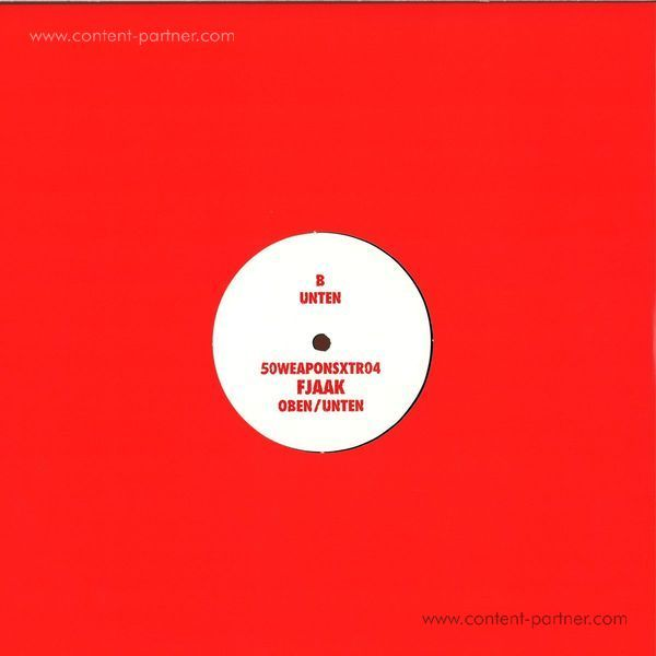Fjaak - Oben / Unten (White Label 12'') (Back)