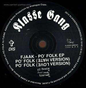 Fjaak - Po' Folk Ep