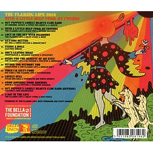Flaming Lips,The - With A Little Help From My Fwends (Back)
