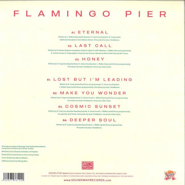 Flamingo Pier - Flamingo Pier (Vinyl LP) (Back)