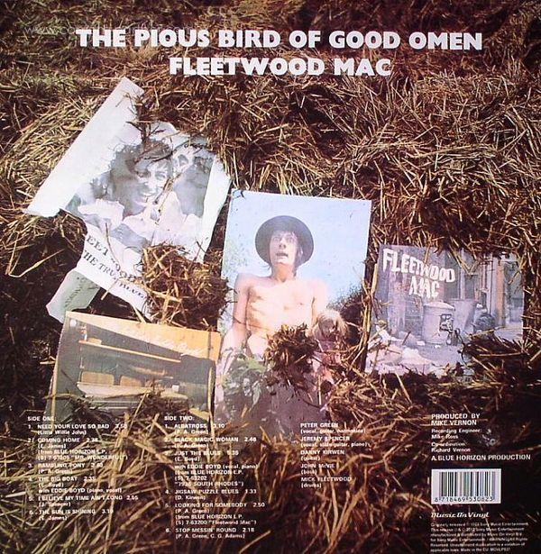 Fleetwood Mac - Pious Bird Of Good Omen (Back)