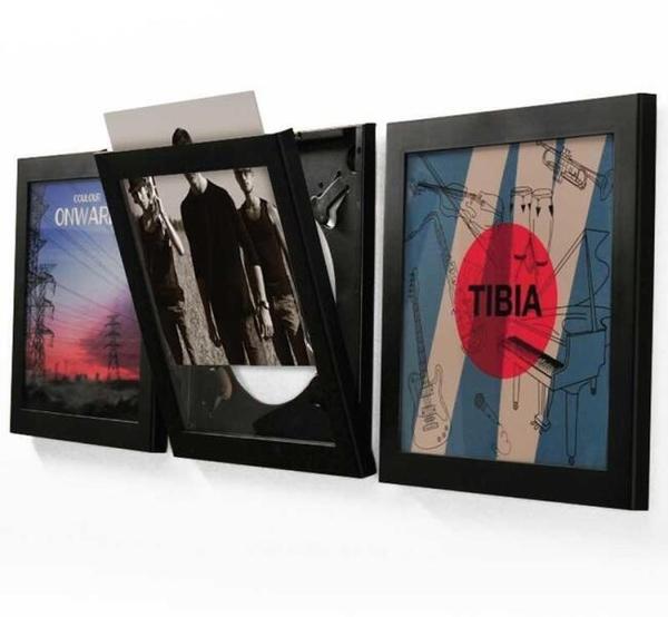 Flip Frame - Black LP Flip Frame (Back)