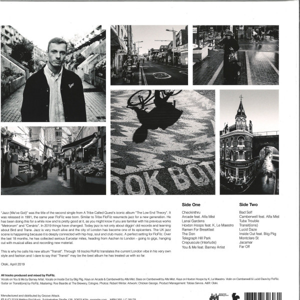 FloFilz - Transit (Ltd. Gatefold LP+Photo Booklet) (Back)