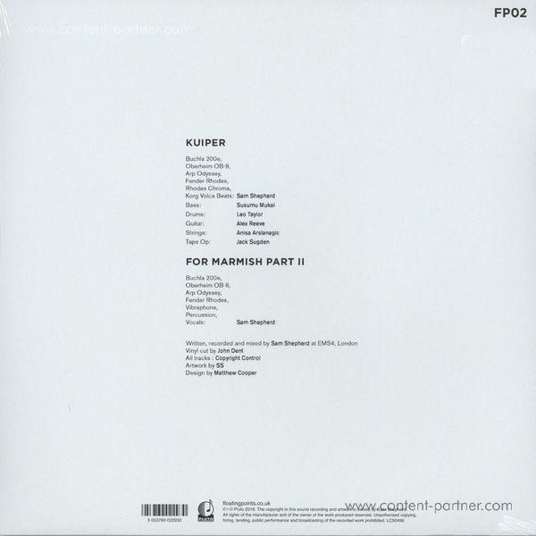 Floating Points - Kuiper EP (Back)