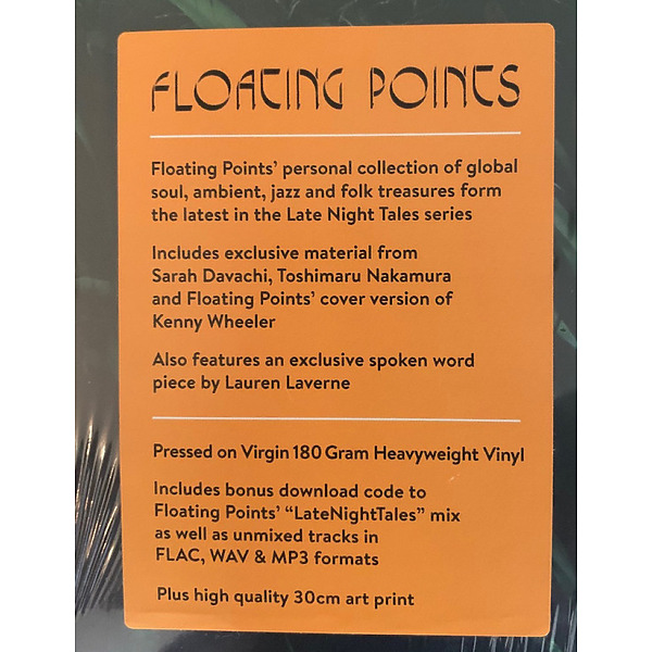 Floating Points - Late Night Tales (180g 2LP) (Back)