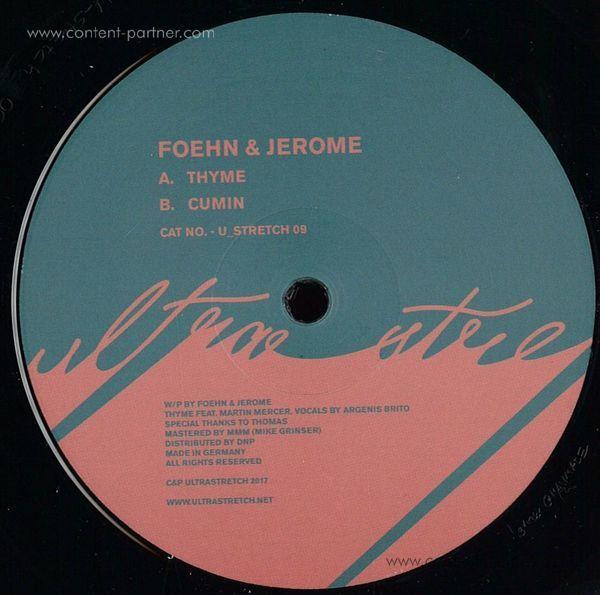 Foehn & Jerome - Thyme/Cumin