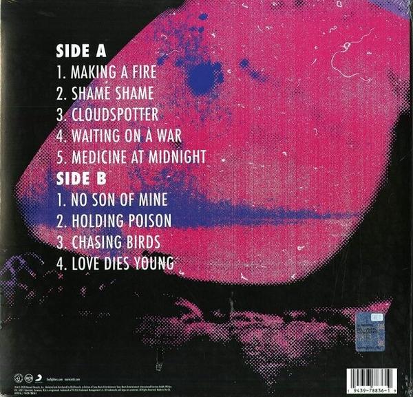 Foo Fighters - Medicine at Midnight (LP) (Back)
