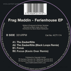 Frag Maddin - Ferienhouse Ep (Incl. Black Loops, Kevin Over Rmx)