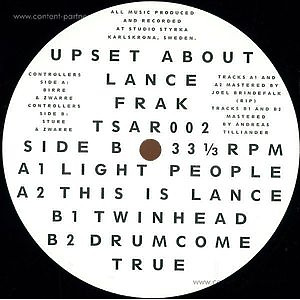 Frak - Upset About Lance Ep