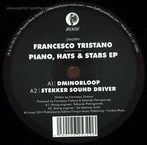 Francesco Tristano - Piano, Hats & Stabs