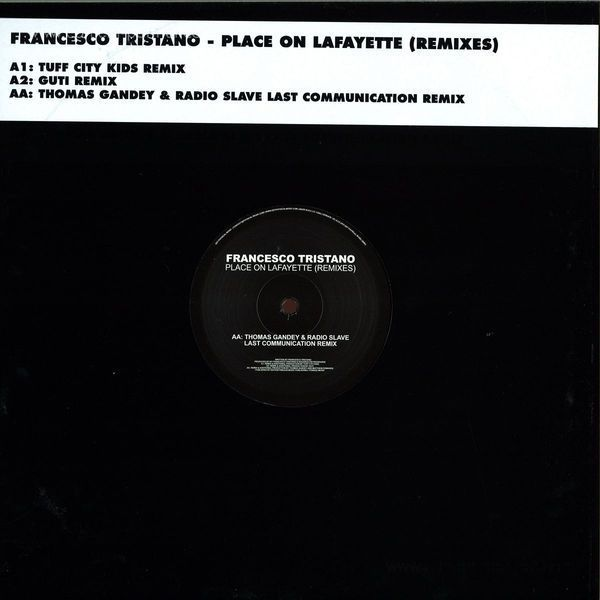 Francesco Tristano - Place On Lafayette Rmxs