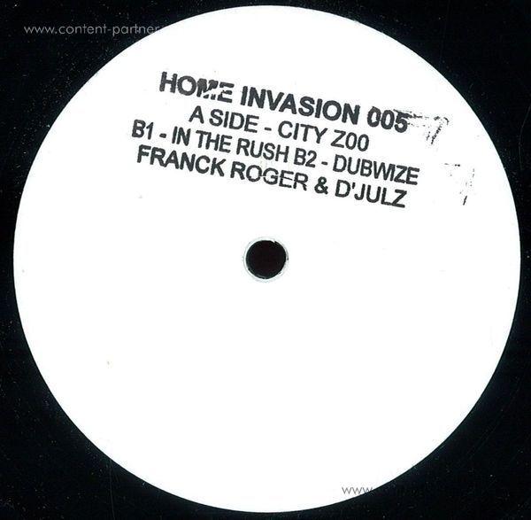 Franck Roger & D'Julz - Home Invasion #5 (Back)