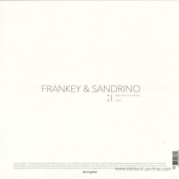 Frankey & Sandrino - Ways Of The Sun / Formax (Back)