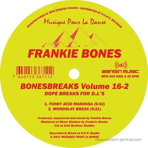 Frankie Bones - Bonesbreaks Volume 16-2