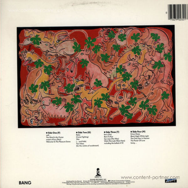 Frankie Goes To Hollywood - Welcome To The Pleasure Dome (Back)