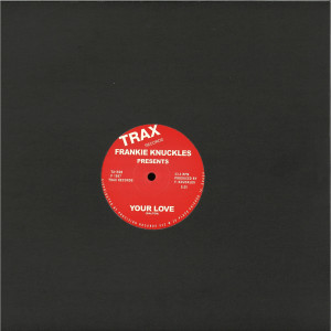 Frankie Knuckles - Baby Wants To Ride (Red Vinyl Repress) (Back)