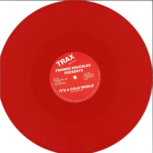 Frankie Knuckles - It's A Cold World / Bad Boy (Limited Red Repress)