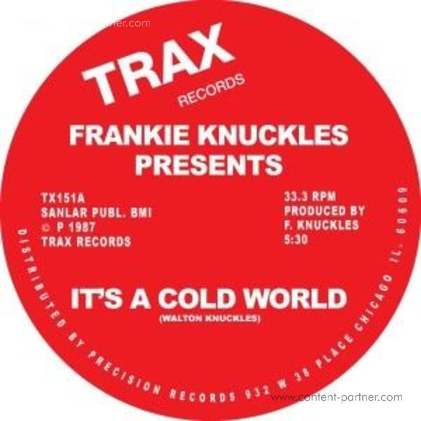 Frankie Knuckles - It's A Cold World / Bad Boy (Back)