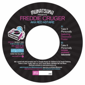 Freddie Cruger aka Red Astaire - Take It Personally (Feat. Desmond Foster)