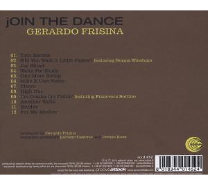 Frisina,Gerardo - Join The Dance (Back)