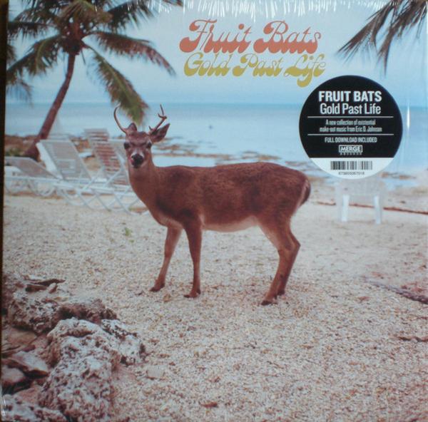 Fruit Bats - Gold Past Life (LP) (Back)