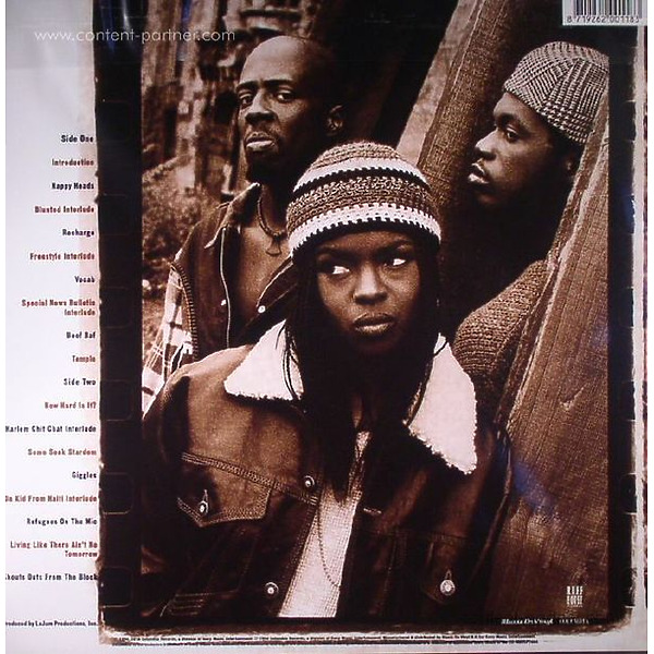Fugees - Blunted On Reality (Back)