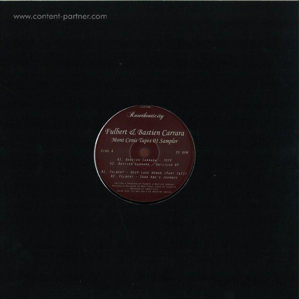 Fulbert & Bastien Carrara - Mont Cenis Tapes 01 Sampler (Back)